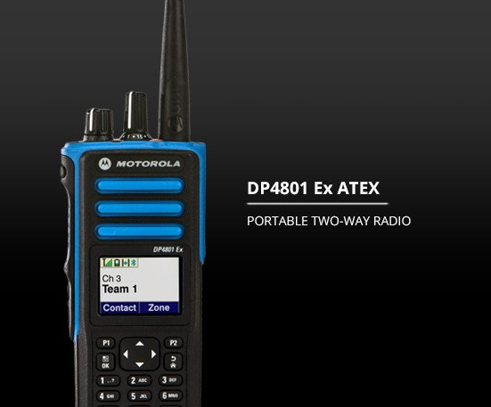 Picture of an ATEX radio
